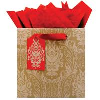 The Gift Wrap Company Parlor Panache Medium Square Gift Bag from Blain's Farm and Fleet