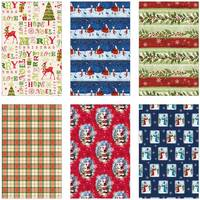 Papercraft Traditional Gift Wrap Assortment from Blain's Farm and Fleet