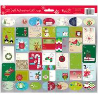 Papercraft Self-Adhesive Gift Label Assortment from Blain's Farm and Fleet