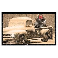 Timeless by Design Merry Christmas Truck LED Canvas from Blain's Farm and Fleet