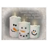 Timeless by Design LED Snow Candles Canvas from Blain's Farm and Fleet