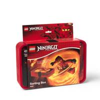 LEGO Ninjago Red Sorting Box from Blain's Farm and Fleet