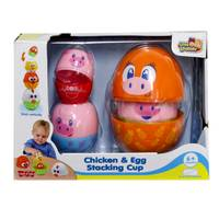 Discovery Kids Little Learner Little Pigs Stacking Cup from Blain's Farm and Fleet