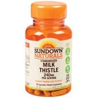 Sundown Naturals Standardized Milk Thistle Capsules - 240mg from Blain's Farm and Fleet