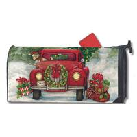 MailWraps Bringing Home the Tree Magnetic Mailbox Cover from Blain's Farm and Fleet