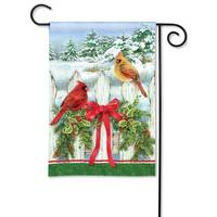 BreezeArt Winter Splendor Garden Flag from Blain's Farm and Fleet