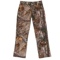 Carhartt Youth Realtree Xtra Camouflage Buckfield Pants from Blain's Farm and Fleet