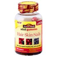 Nature Made Hair Skin & Nails Adult Gummies from Blain's Farm and Fleet