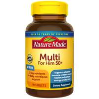 Nature Made Multi for Him 50+ Dietery Tablets from Blain's Farm and Fleet