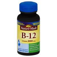 Nature Made Vitamin B-12 Liquid Softgels from Blain's Farm and Fleet