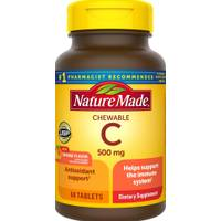 Nature Made Chewable Vitamin C Tablets from Blain's Farm and Fleet