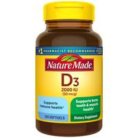 Nature Made Vitamin D3 Softgels from Blain's Farm and Fleet