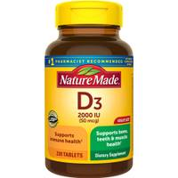 Nature Made Vitamin D3 Tablets from Blain's Farm and Fleet