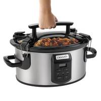 Crock Pot 6-Quart Single Hand Cook Carry Oval Slow Cooker from Blain's Farm and Fleet