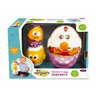 Epoch Everlasting Play Chicken & Egg Stackers from Blain's Farm and Fleet