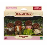 Calico Critters Chocolate Labrador Family from Blain's Farm and Fleet