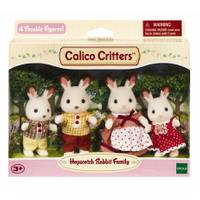 Calico Critters Hopscotch Rabbit Family from Blain's Farm and Fleet