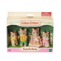Calico Critters Sandy Cat Family from Blain's Farm and Fleet