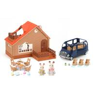 Calico Critters Lakeside Lodge from Blain's Farm and Fleet