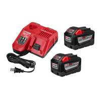Milwaukee M18 REDLITHIUM High Demand 9.0 Starter Kit from Blain's Farm and Fleet