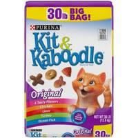Kit & Kaboodle 30 lb Original Dry Cat Food from Blain's Farm and Fleet