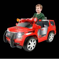 Rollplay 6V GMC Yukon Denali Fire Rescue from Blain's Farm and Fleet