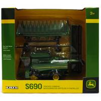 ERTL 1:64 John Deere S690 Tracked Combine from Blain's Farm and Fleet