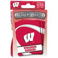 Leap Frog Wisconsin Badgers Playing Cards from Blain's Farm and Fleet