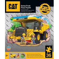 Leap Frog CAT Dump Truck Floor Puzzle from Blain's Farm and Fleet