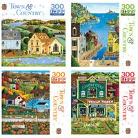 Leap Frog 300-Piece Town & Country Puzzle Assortment from Blain's Farm and Fleet
