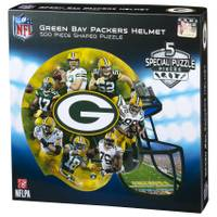 Leap Frog 500-Piece Green Bay Packers Helmet Puzzle from Blain's Farm and Fleet