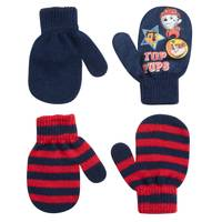 Nolan Originals Toddler Boys' Paw Patrol Top Pups Mittens - 2 Pack from Blain's Farm and Fleet