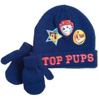 Nolan Originals Toddler Boys' Top Pups Beanie & Mittens Set from Blain's Farm and Fleet