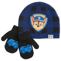 Nolan Originals Toddler Boys' Chase Beanie & Mittens Set from Blain's Farm and Fleet