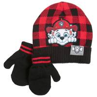 Nolan Originals Toddler Boys' Marshall Beanie & Mittens Set from Blain's Farm and Fleet