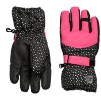 Nolan Originals Girl's Dot Print Ski Gloves from Blain's Farm and Fleet