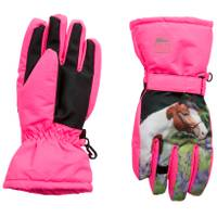 Nolan Originals Girl's Horse Ski Mittens from Blain's Farm and Fleet
