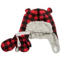 Nolan Originals Infant Boy's Buffalo Check Pilot Hat from Blain's Farm and Fleet