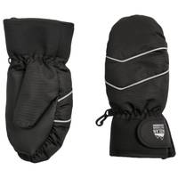 Nolan Originals Boy's Black Ski Mittens from Blain's Farm and Fleet