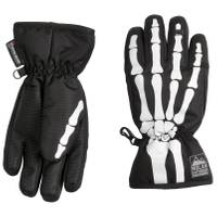 Nolan Originals Boy's Glow Skeleton Ski Gloves from Blain's Farm and Fleet
