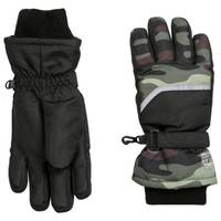 Nolan Originals Boys' Camo Ski Gloves from Blain's Farm and Fleet