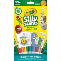 Crayola Silly Scents Beach Vacation Marker Kit from Blain's Farm and Fleet