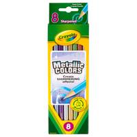 Crayola 8-Count Metallic Colored Pencils from Blain's Farm and Fleet