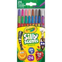 Crayola 24-Count Silly Scents Mini Twistable Crayons from Blain's Farm and Fleet