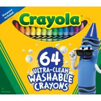 Crayola 64-Count Washable Crayons from Blain's Farm and Fleet