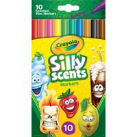 Crayola 10-Count Silly Scents Fine Washable Markers from Blain's Farm and Fleet