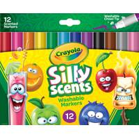 Crayola 12-Count Silly Scents Broad Washable Markers from Blain's Farm and Fleet