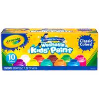 Crayola 10-Count Washable Kids Paint from Blain's Farm and Fleet