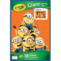 Crayola Despicable Me 3 Giant Coloring Pages from Blain's Farm and Fleet