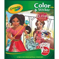 Crayola Elena of Avalor Color & Sticker Book from Blain's Farm and Fleet